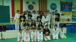 Foto de familia del curso 2013-2014. Infantiles.