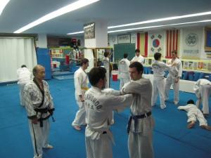 Curs introducció al Taekwondo i a la defensa personal Servei d'Esport de l'UdG ( Universitat de Girona)
