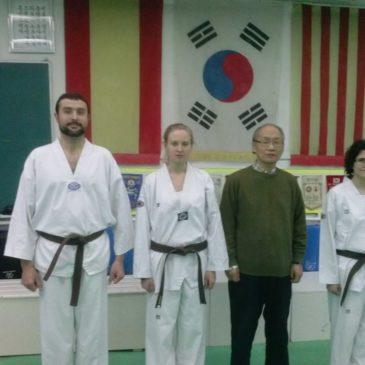 Enhorabuena, 3 nuevos cinturones negros!