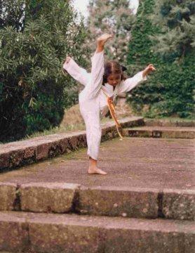 beneficios del Taekwondo extraescolar ( Girona, parc arqueològic )