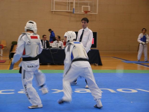 Campionat de Espanya Universitari de Taekwondo 2009 100