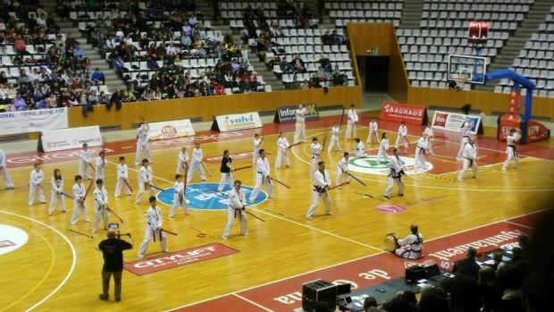 Esdeveniment esportiu a Fontajau Girona